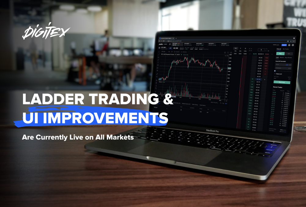 Spot Ladder Trading and UI Improvements Are Currently Live