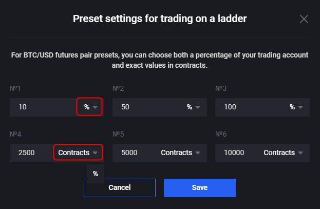 Spot Ladder Trading and UI Improvements Are Currently Live 6